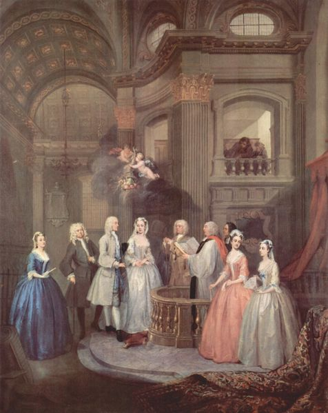 William Hogarth Wedding