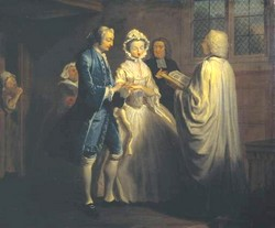 Pamela is Married by Joseph Highmore