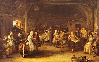 The Penny Wedding by Sir David Wilkie